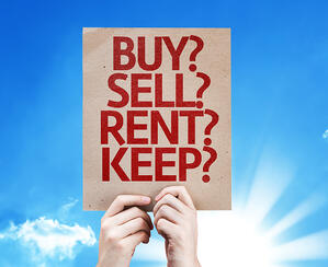 Buy_ Sell_ Rent_ Keep_ card with sky background