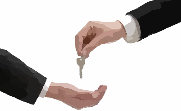 Keys handover - Image Credit: http://pixabay.com/en/users/Nemo-3736/