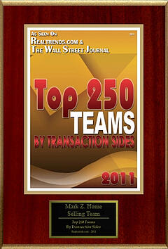 wall-street-journal-award-mark-z-home-selling-team